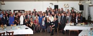 """1999 feierte der """"Jahrgang 1939"""" im Saal sein 60-er Jubiläum."""