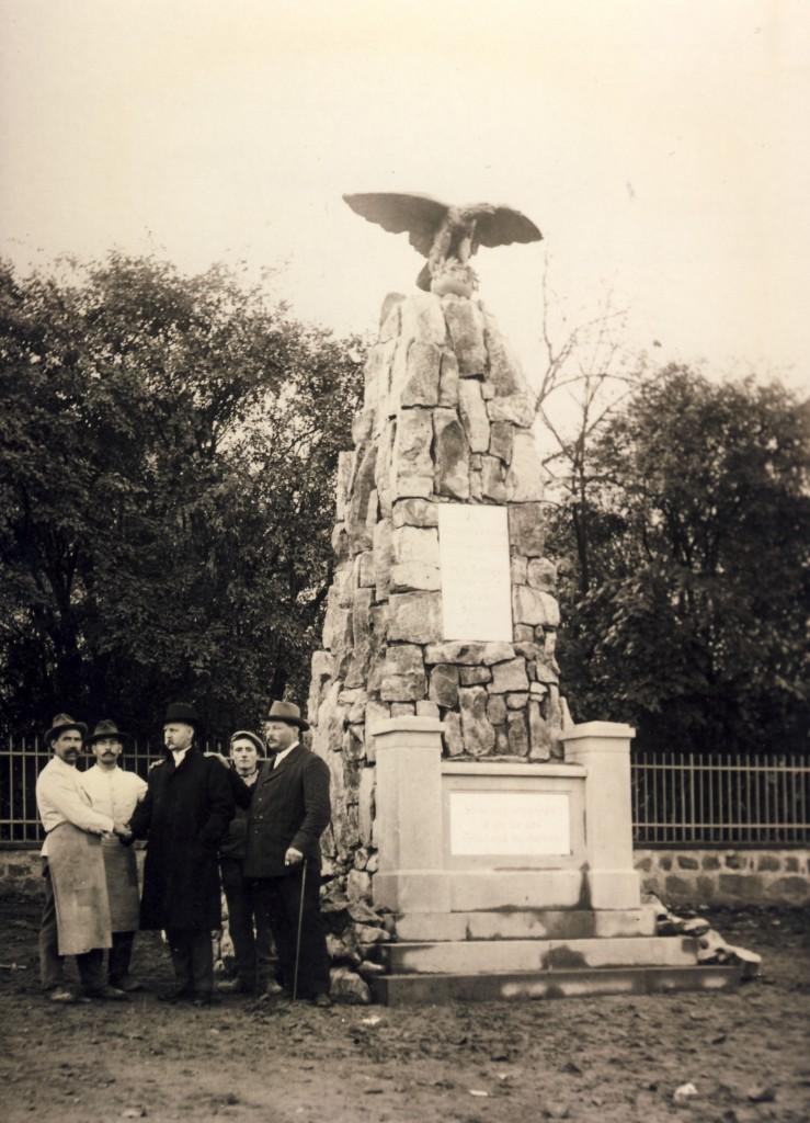 Burgstraße Denkmal Fertigstellun 1912 (1)