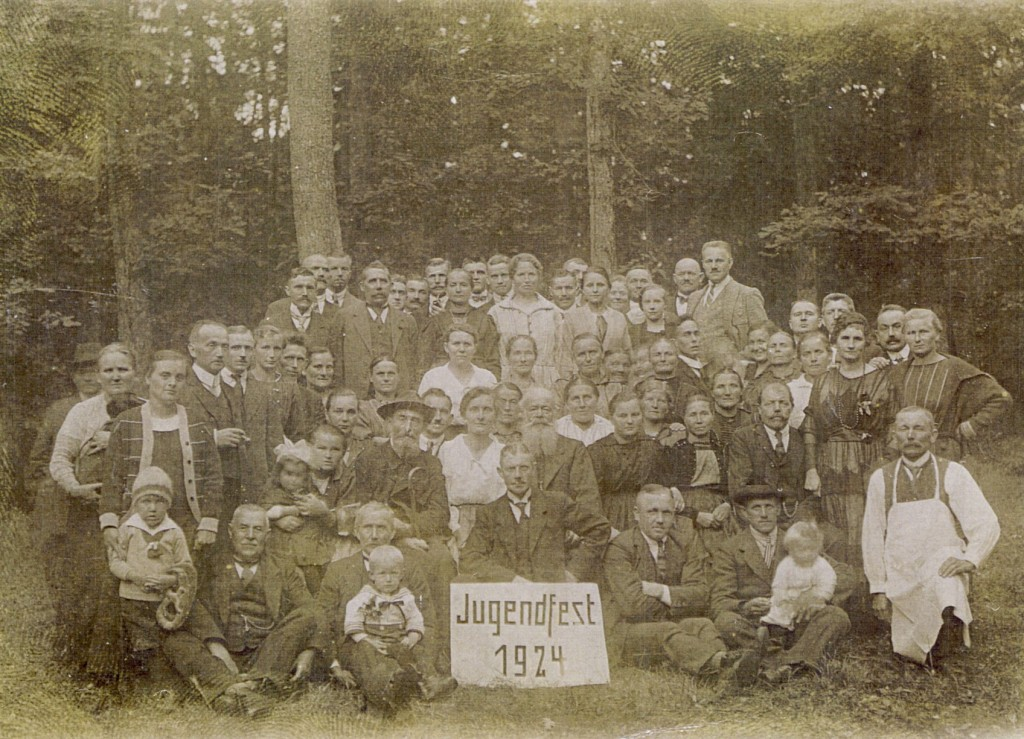 Jugendfest 1924 (Erwachsene) von Farbkopie13xkl