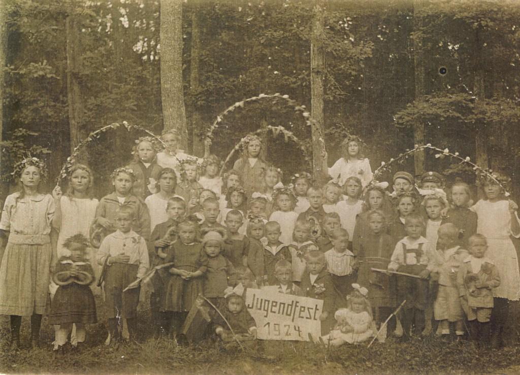Jugendfest 1924 (Kinder) von Farbkopie13xkl