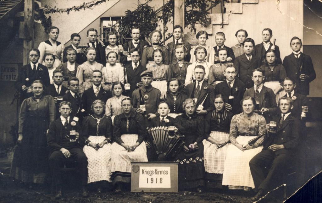 Kirmes 1918 Moos (1)kl