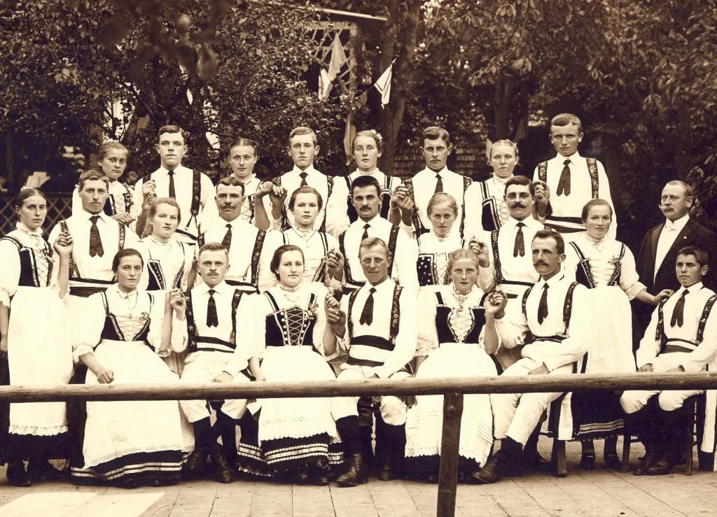 Kriegerfest (1909) 1kl