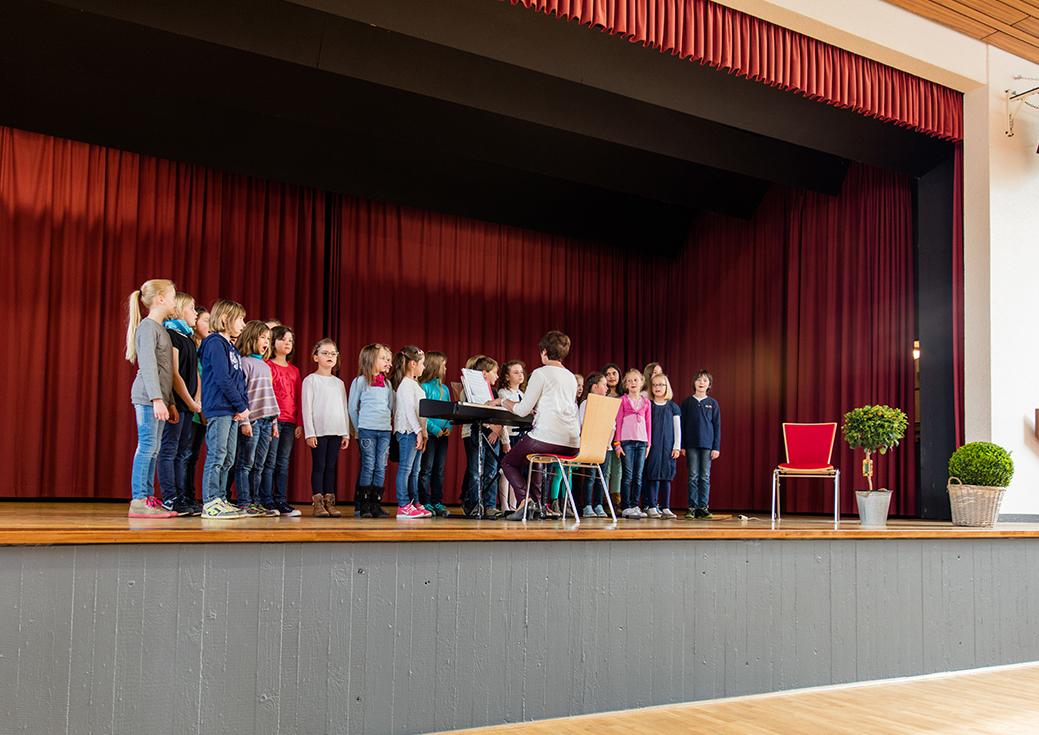 Kinderchor der Grundschule Krofdorf-Gleiberg